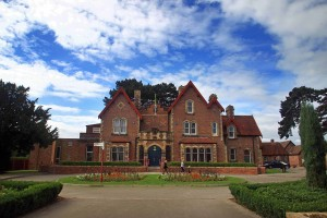 Whitby Hall Outside